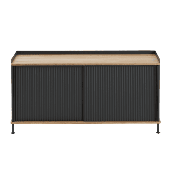 Enfold Low Black-Muuto